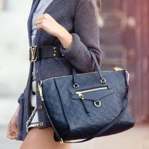 AUTHETIC Louis Vuitton Lumineuse PM Empreinte BAG